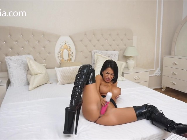 Anisyia livejasmin extreme highheels stockings fuckmachine suck fetish 5