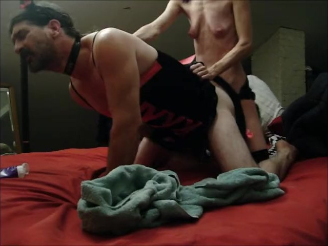 Seductive Goddess Makes Husband Meow - Pegging Strapon