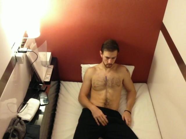 Boy Caught Masturbating on Cctv in Capsule Hotel - Caught Wanking in Japan