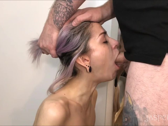 Please throat fuck my wife-4652