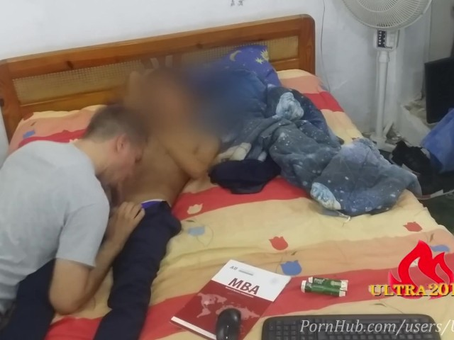 After Class He Want Get a Blowjob and Fuck Me 2/2