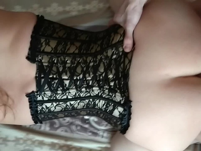 Sex With Wife in Doggy Style Cumming Inside