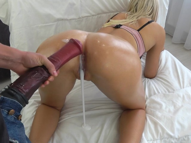 Tiny Teen Fucked By Huge Horse Cock - Massive Creampie -7972