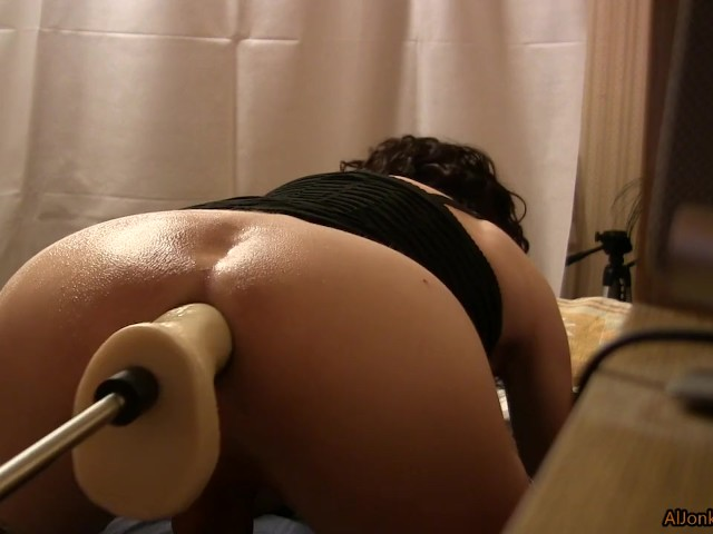 Ass in Oil and Anal Gape
