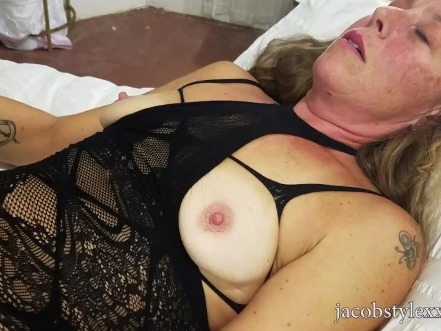 Fucking Through Sexy Milf Roxy Karmikel's Body Stocking Full Version
