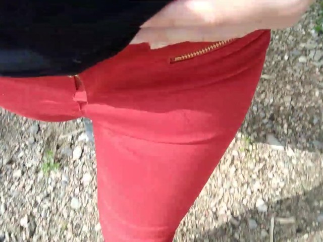 Pee on My New Red Jeans Outdoor