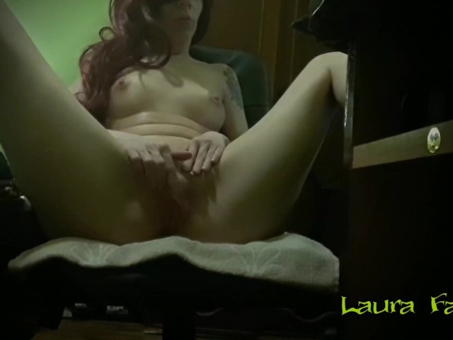 Horny Amateur Milf Masturbating While Watching Porn - Laura Fatalle