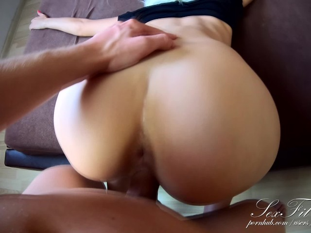 Big Dick Fuck Me In Doggystyle Sperm Flows Down My Back -1814