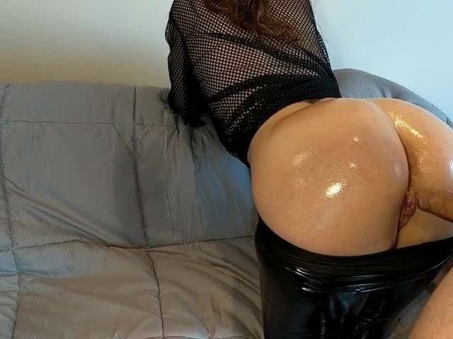 Step Brother Abuse and Cums Sister's Leather Pants-big Ass Slutty Teen Pov
