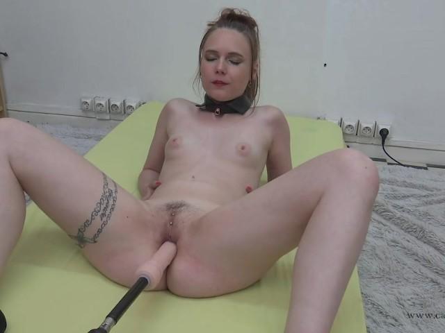Ma Premiere Fucking Machine Avec Cathy Crown Belgium Porn Star