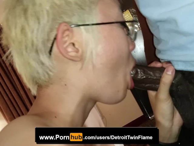 Blonde Asian Kitten Kam and Bbc Oral Blowjob and Deepthroating