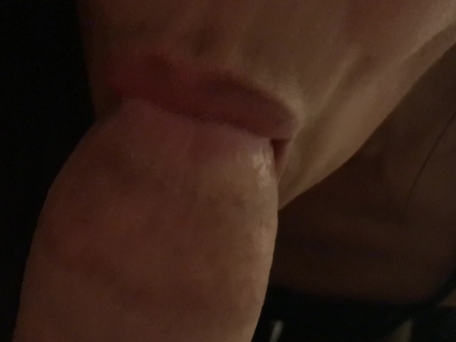 Up Close Blowjob Cum in Her Mouth and She Swallows Every Single Drop Pov