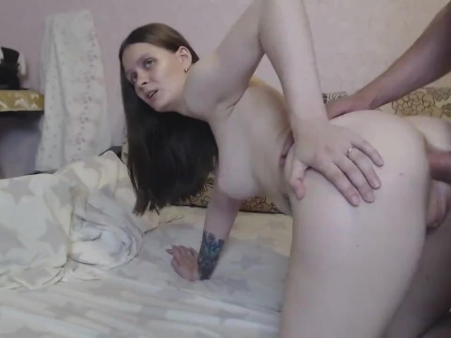 Anal Fucked and Cumshot in the Ass Beautiful Girl