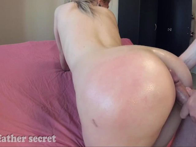Perfect Assjob and Fuck With Spanked Teen - Cum on Ass