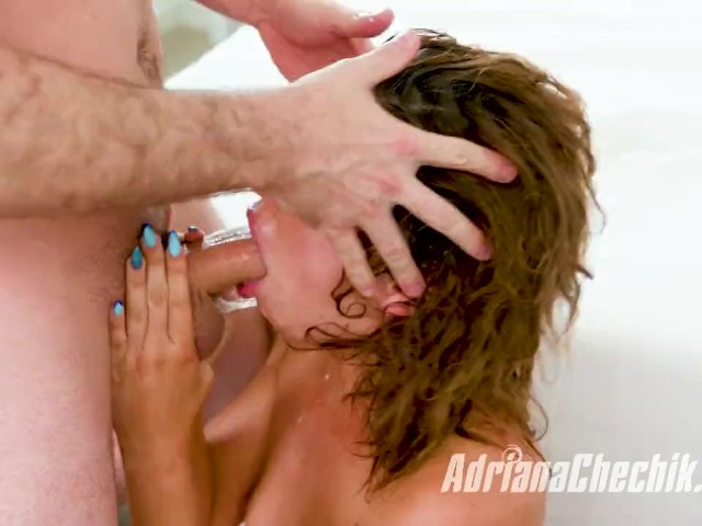 James Deen Dominates Adriana Chechik and Treats Her Like a Dirty Brat