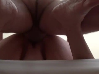 Fucking Sweetstuff from behind cum dripping at end (sorry a little dark)