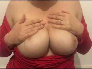Hot Woman Plays With Pussy And Tits On Video Call