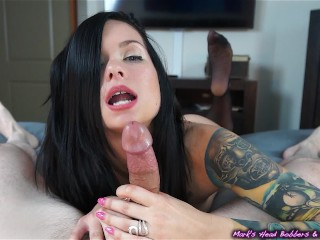 Up Close And Personal With Maria 2 Blowjobs 2 Cumshots