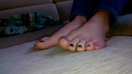 Ksenia's Foot Fetish...