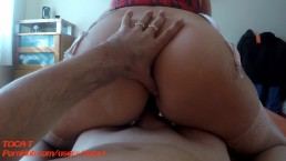 Reverser Cowgirl and Creampie...