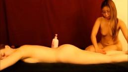 Naked girl/girl massage...