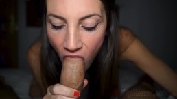Slow and Sloppy Blowjob...