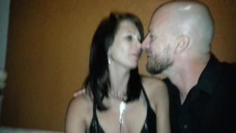 Public upskirt no panties! Lydia and Aaron