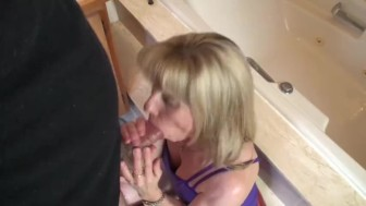 Quickie Bathroom Blowjob - 090423