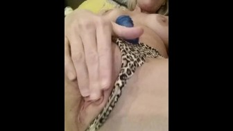 B's Pussy in Blue. x2