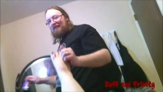 Buff and Trinity Pleasures: Foot Fetish Fun