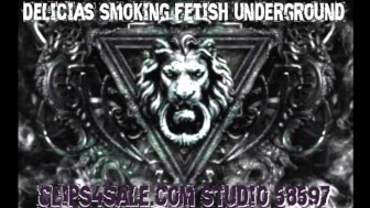 Delicia's Smoking Fetish Underground