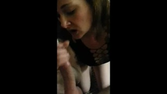 POV~ Deep Throating Darling, DaniLynn swallows Cock