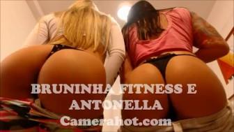 Brazilian Babe teen lesbians - Fitness big ass shaking