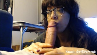 Amateur Oral Creampie