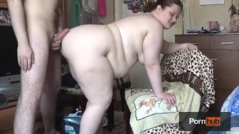 BBW Tanya Mellow Fucked on a Chair