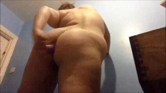 Fucking my asshole with a vibrator