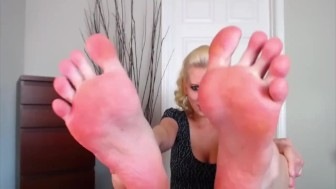 Foot Worship with Cherry Torn