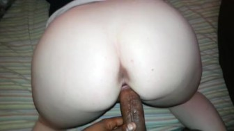 Slow Motion Bbc in Tight Wet big booty Pussy