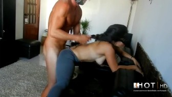 ANAL Doggy Style on couch - Diana cu de Melancia - Portugal - hardcore =(