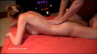 Sensual babe massage w/ convulsion orgasms & squirtgasms!