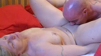 Milf gets fucked deep and hard pussy eaten