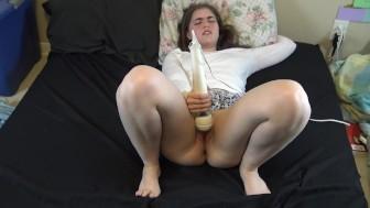 Birthday Orgasm - Abby