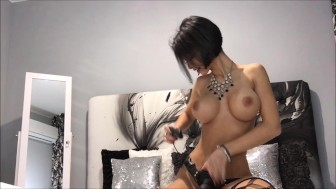 Anisyia topless big black cock