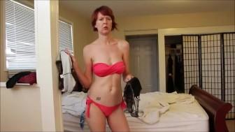 Bikini Wife Busted