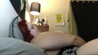 Naughty BBW redhead maid gets fucked hard!