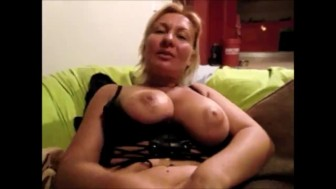 Russian slut girl friend sucks dick and fucks herself