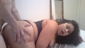 Lusty Gets Her Ass Licked And Gets Fucked Before Bed...She Loves Facials