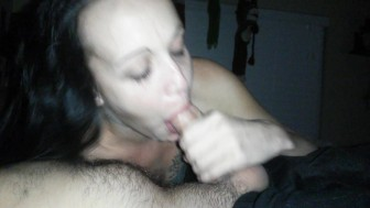 Do I Spit or swallow? Watch and find out. Best Quickie Blowjob
