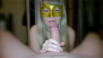 My blowjob with Deepthroat creampie for my husband