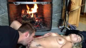 Brittney Blaze Fucks At Her Boss's Cabin!!!